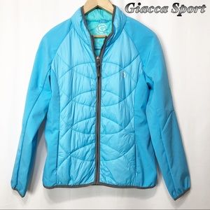 Giacca Sport - Blue Two tone Performance Jacket SM